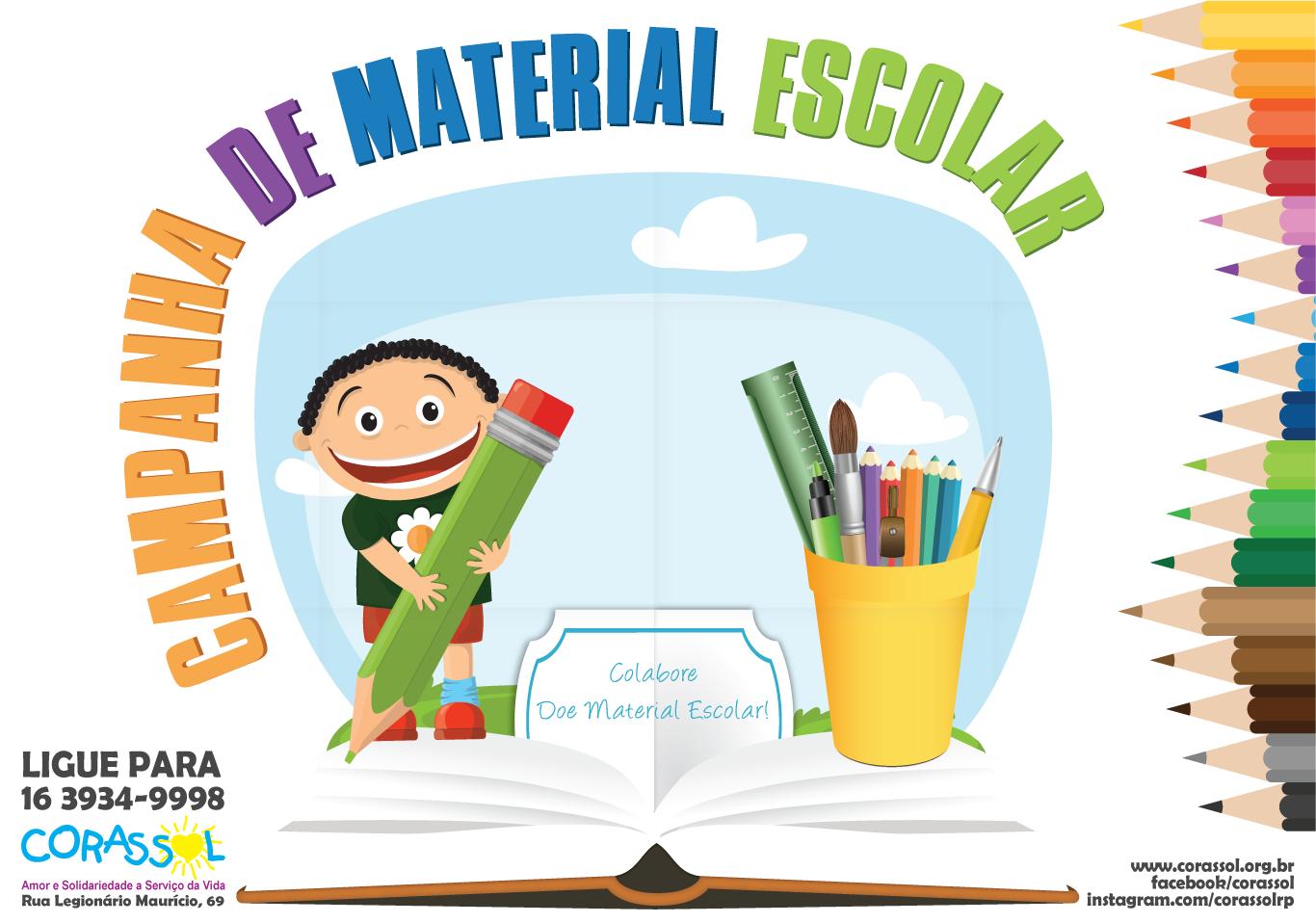 campanha material escolar