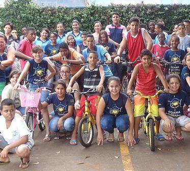 doação bicicletas