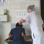 higienização cabeça