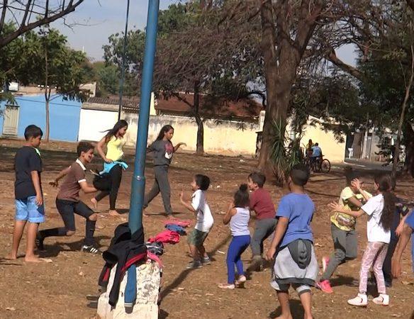 esporte na praça