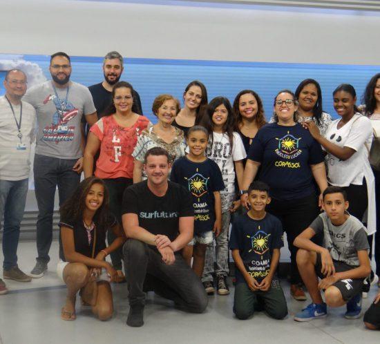 visita EPTV Ribeirão Preto