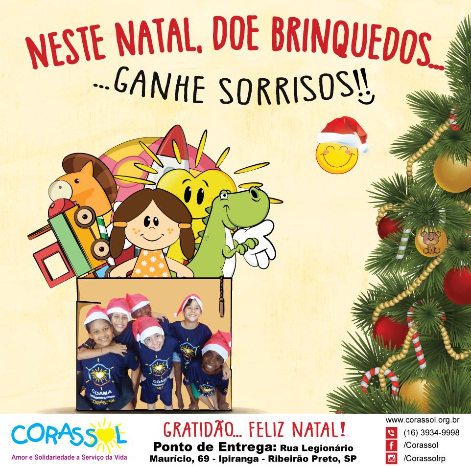 doação brinquedo natal